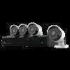 Kit di Videovigilanza Nivian - Videoregistratore NVR 8 canali - 4 Telecamere IP 5Mpx - Installazione Plug&Play P2P - Compatibile con ONVIF - Nivian Connect App