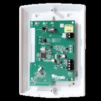 expander wireless - Certificato grado 2 - 32 entrate + 32 telecomandi + 2 sirene - Compatibile con panello PCX46 - Ogni PCX46 permette 1 modulo di espansione - Connessione RS485