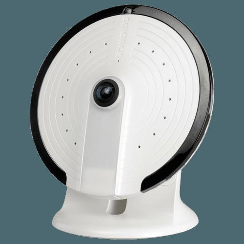 telecamera IP per Smarthome - Comunicazione Wifi - Compatibile con kit K1 di Smanos - Lente Fisheye Gran Angolare - Audio | Slot per scheda SD - Accesso attraverso la APP mobile