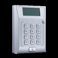 Access Control - Tessera Mifare e tastiera - 3.000 usuari / 10.000 registri - TCP/IP e Relè - Controller integrato - Software Safire Control Center