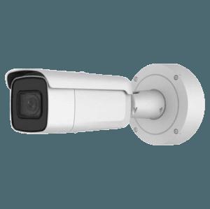 "Telecamera IP 8 Megapixel - 1/2.5"" Progressive Scan CMOS - Compressione H.265+/H.265/H.264+/H.264 - Lente motorizzata AF 2.8~12 mm Autofocus / WDR - IR LEDs Portata 50 m   Audio ed Allarmi - Interface WEB"