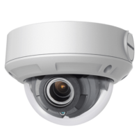 "Telecamera Dome IP 4 Megapixel - 1/3"" Progressive Scan CMOS - Compressione H.265+ / H.265 - Lente motorizzata 2.8~12 mm - Matrix IR Portata 30 m - IP67 | WDR | Audio | Allarmi"