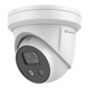 "Telecamera IP 4 Megapixel - 1/2.7""  Ultra Low Light sensor - Compressione H.265+ / H.265 - Lente 2.8 mm / WDR / IR 30m mm / WDR / IR [%VAR%] - Il flash e i deterrenti per gli altoparlanti - Truesense: Filtro di falso allarme"