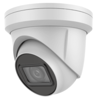 "Telecamera Turret IP 2 Megapixel - 1/2.7"" Progressive Scan CMOS - Compressione H.265+ - Ottica Varifocale 2.8~12 mm - IR Distanza 30m - Impermeabile IP67"