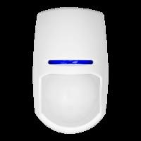Rilevatore PIR - Adatto per uso interno - 1 Sensore Infrarossi Dual - Cablato - Rango di rilevamento 15 m - Certificato Grado 2